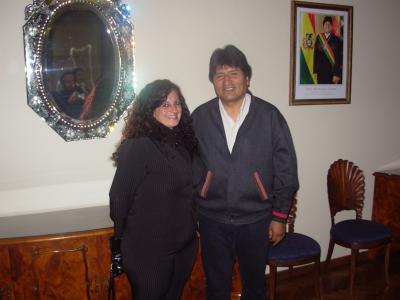 Salvar la Madre Tierra, sentido de vida para Evo Morales