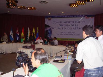 ALBA -TCP en Bolivia lucha por la Naturaleza