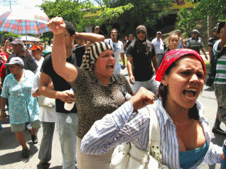 Mujeres al poder en Honduras