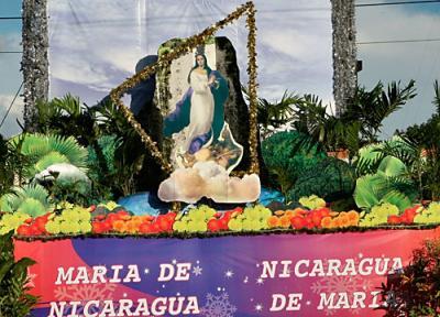 Colmada Nicaragua por el espíritu mariano