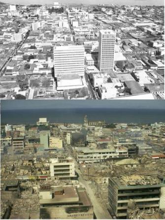Managua atrapada en la telaraña del terremoto de 1972