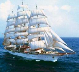 Sea Cloud, leyenda viva de la marinería, en aguas de Nicaragua