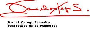 Daniel Ortega envía mensaje amistoso a líderes de la Revolución Cubana