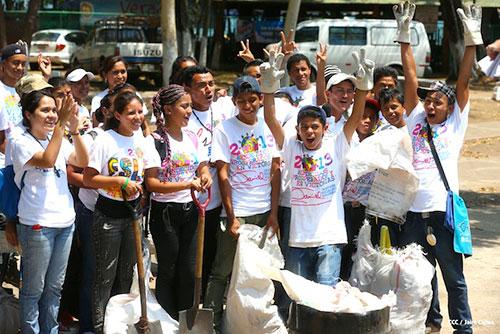 Jóvenes, protagonistas del cambio en Nicaragua