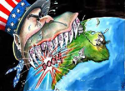 Doctrina Monroe e intervenciones de Estados Unidos en América Latina