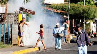 Cruzada contra el dengue sella semana en Nicaragua