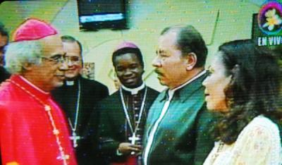 Usted hizo el milagro de resucitarme, Daniel Ortega a Cardenal Brenes