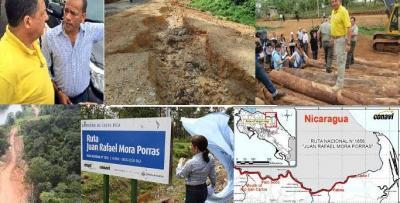 Ejecución de vía fronteriza preocupa a presidente de Costa Rica
