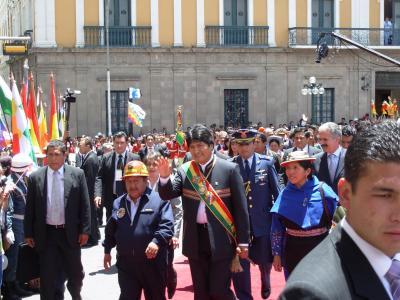 Evo Morales: los indígenas estamos preparados para gobernar