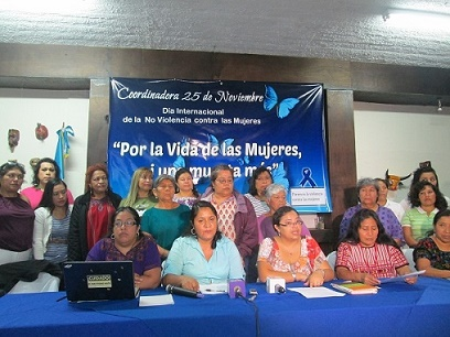 Denuncian retroceso respecto a derechos de las mujeres en Guatemala