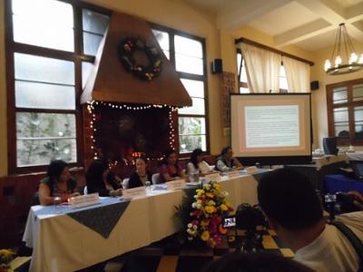Denuncian impacto de modelo extractivista en mujeres en Guatemala