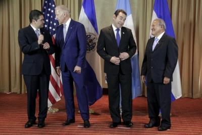 Centroamericanos complacidos por diálogo con vicepresidente Biden