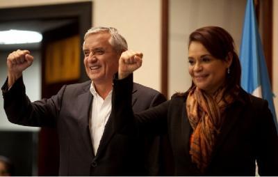 Recae otro juicio sobre expresidente y exvicepresidenta de Guatemala