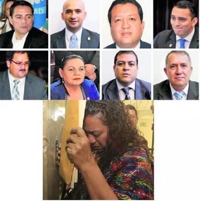 Evalúan desaforar por racismo a diputados oficialistas en Guatemala