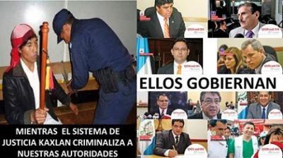 Repudian detención arbitraria de autoridad indígena en Guatemala