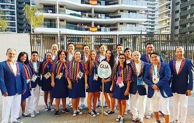 Destacan vestuario de Guatemala en premier de Olimpiadas Río 2016