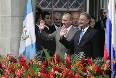 Guatemala y Rusia procuran fortalecer sus vínculos