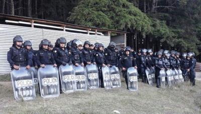 Denuncian uso de gas lacrimógeno en correccional de Guatemala