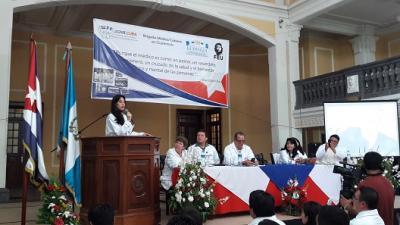 Remedo de guerra contra ministra de Salud en Guatemala