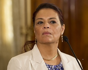 Estados Unidos solicita extradición de exvicepresidenta de Guatemala